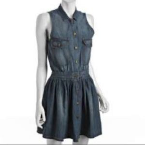 💙CURRENT\ELLIOT💙SLEEVELESS COWBOY DRESS